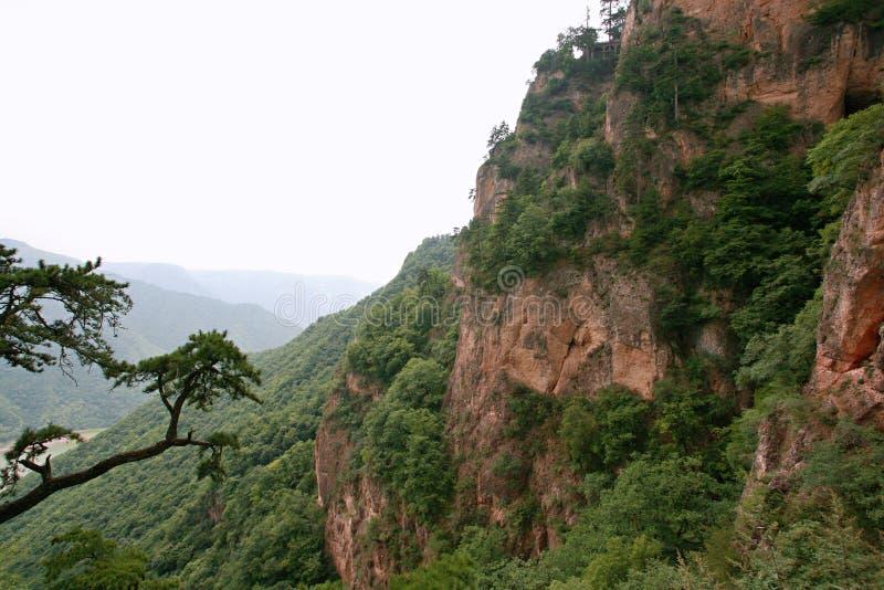 Montanha de Kongtong foto de stock royalty free