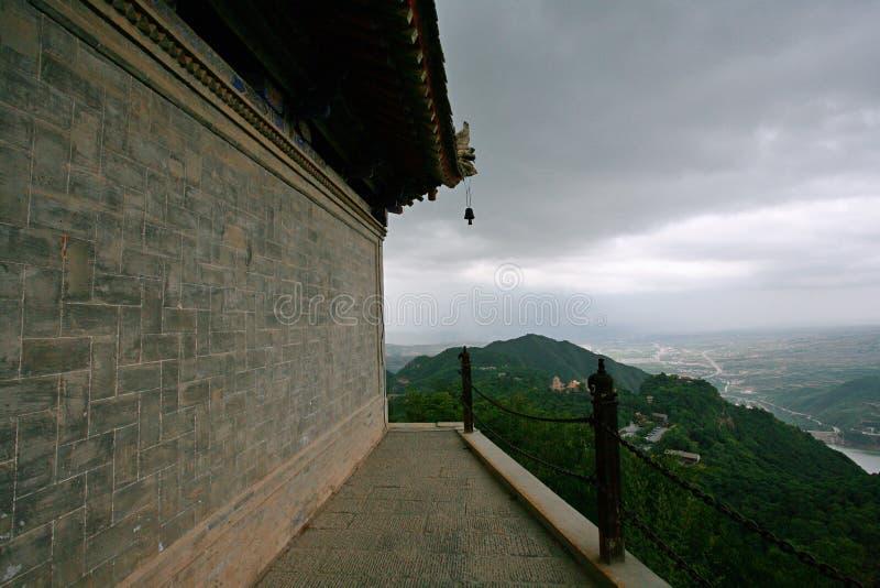 Montanha de Kongtong fotografia de stock