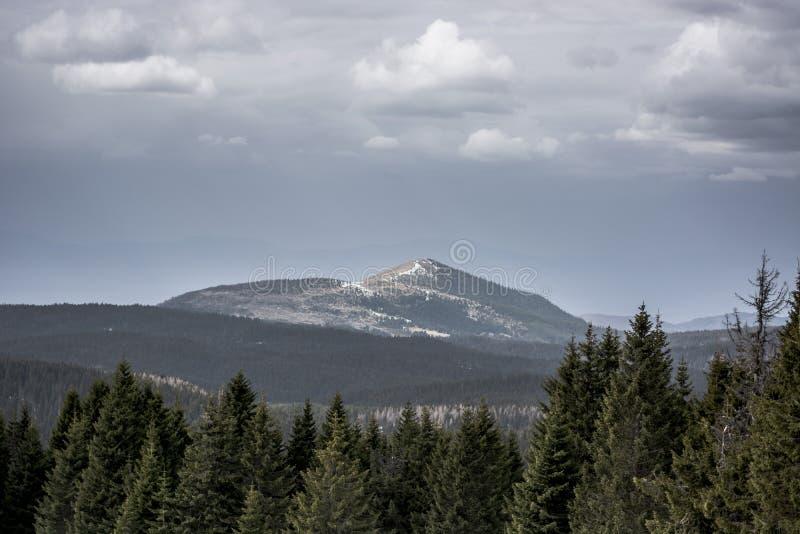 Montanha de Kopaonik na Sérvia fotografia de stock royalty free