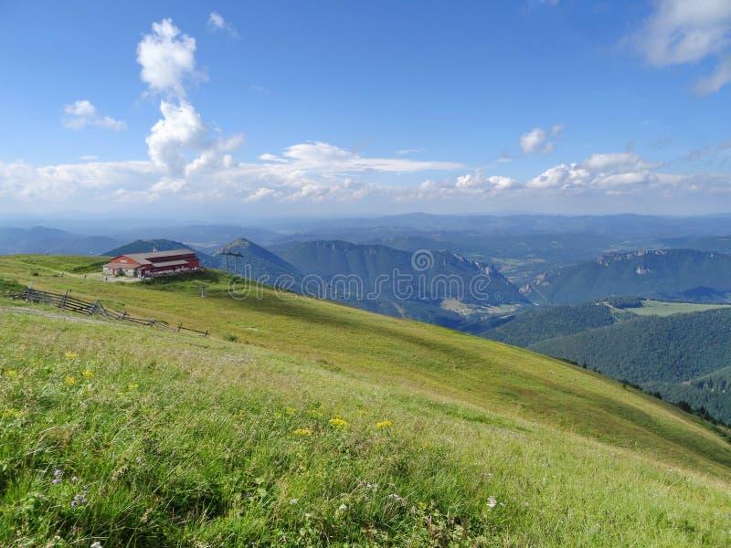 Montanha de Mala Fatra, Eslováquia, Europa fotografia de stock royalty free