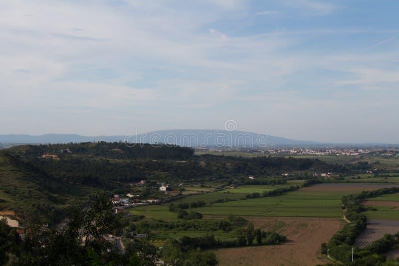 Montanha de Monte Junto em Portugal imagem de stock royalty free