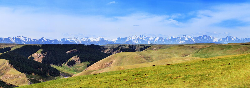 Montanha de Qilian imagens de stock royalty free