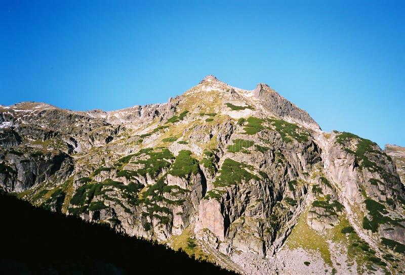 Montanha de Rila fotografia de stock