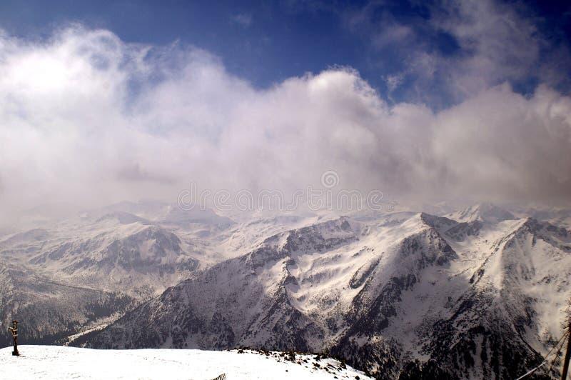 Montanha de Rila foto de stock