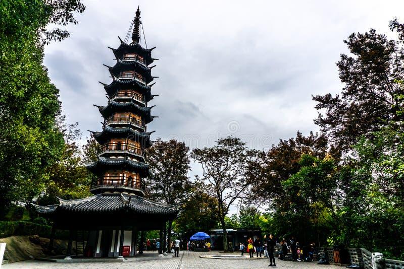 Montanha 2 de Shanghai Sheshan fotografia de stock