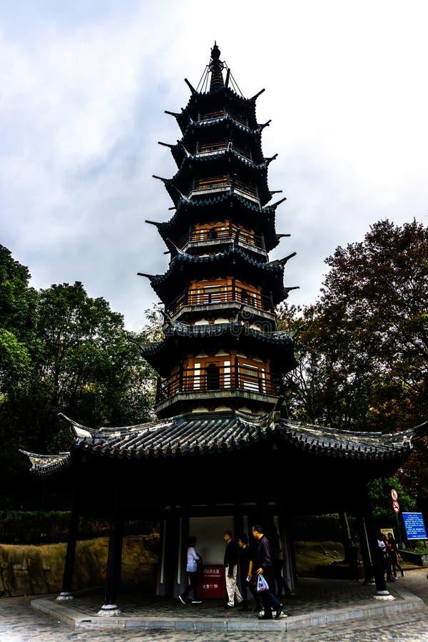 Montanha 3 de Shanghai Sheshan fotografia de stock