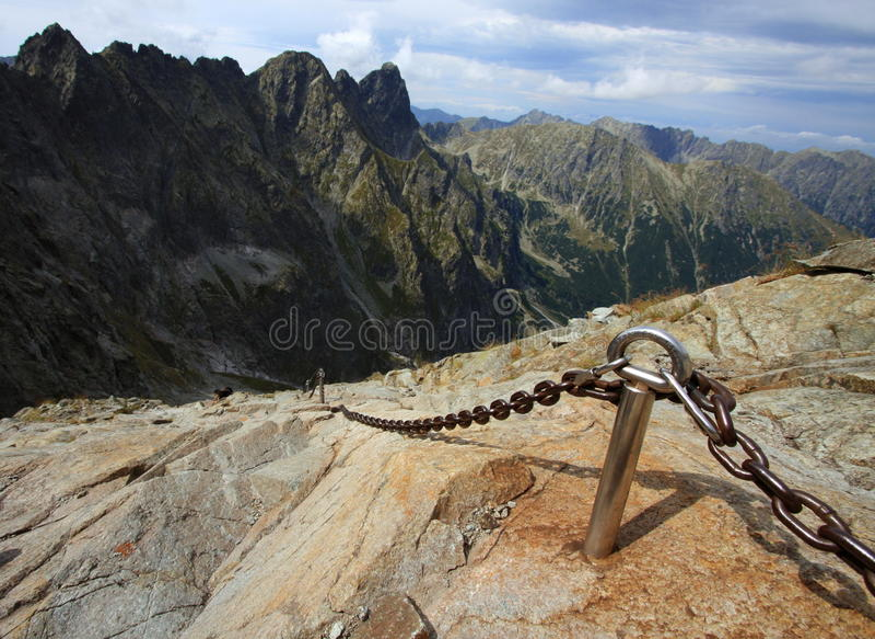 Montanha de Tatra fotos de stock royalty free
