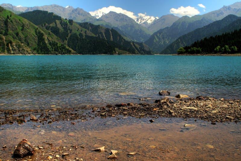 Montanha de Tian Shan imagens de stock royalty free