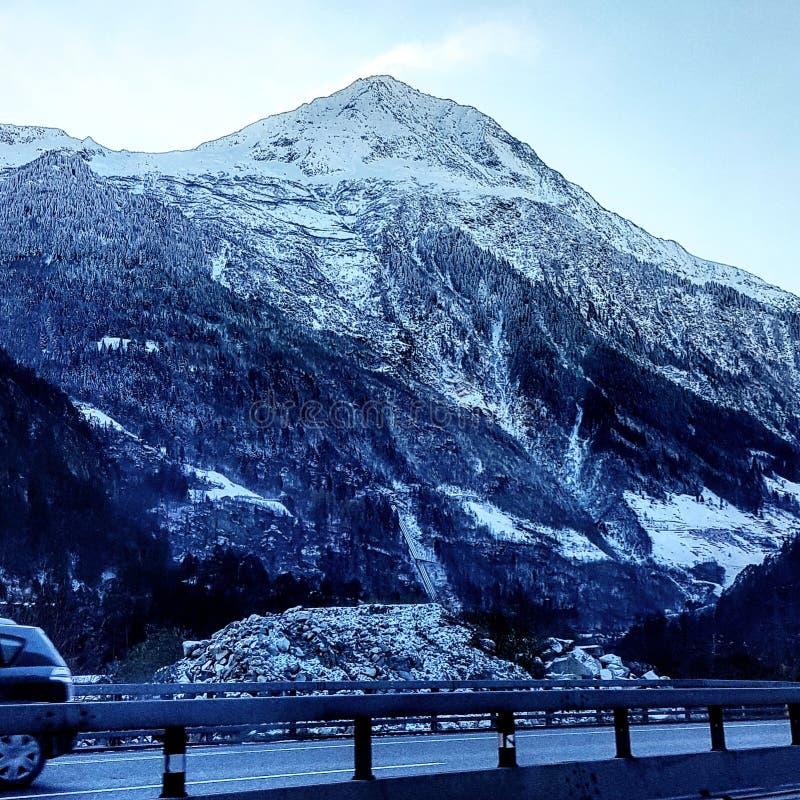 Montanha de Ticino imagens de stock
