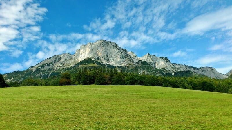 Montanha de Untersberg imagens de stock