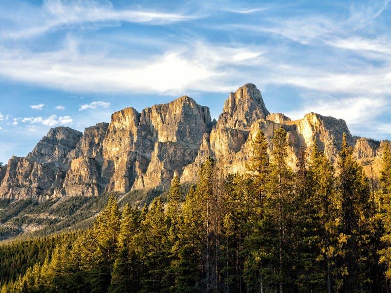 Montanha do castelo fotos de stock royalty free