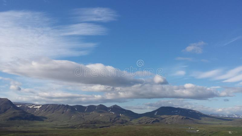 Montanha do lafell do ¡ de Skà imagem de stock