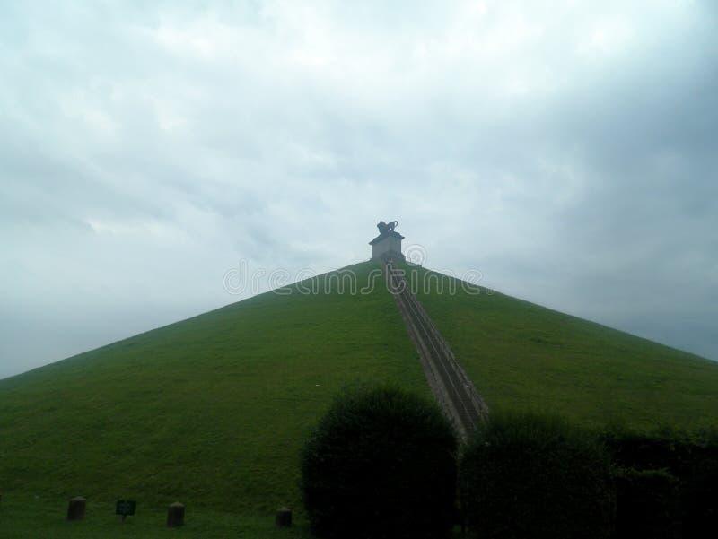 A montanha do leão, Waterloo, Bélgica imagem de stock royalty free