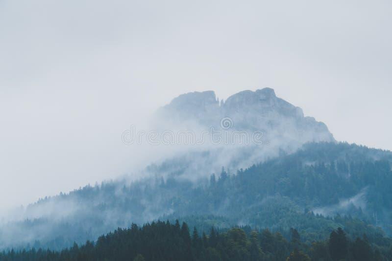 Montanha do vencido imagens de stock