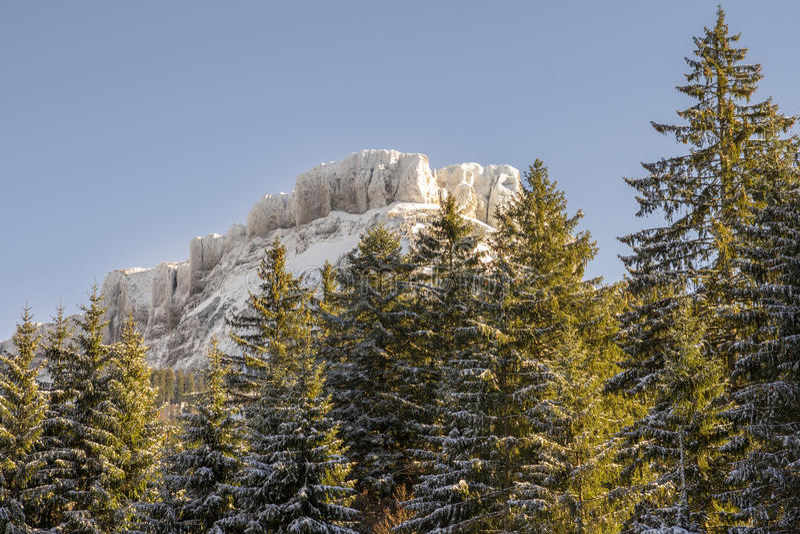 Montanha do vencido em Áustria imagem de stock royalty free