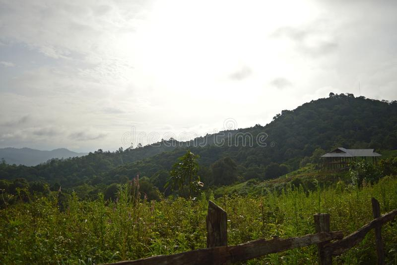 Montanha Doi Mae Daet foto de stock royalty free