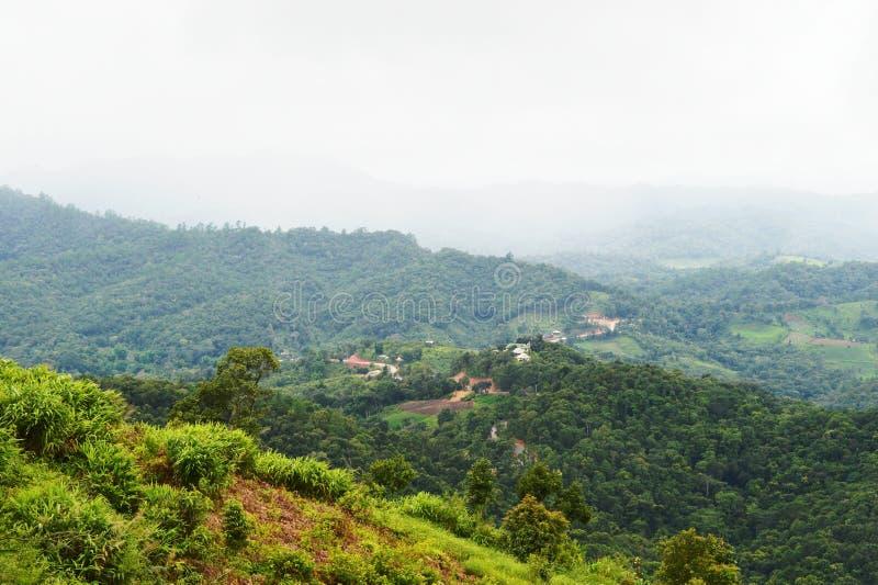 Montanha Doi Mae Daet fotografia de stock royalty free
