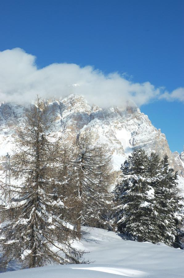 Montanha dos alpes fotos de stock royalty free