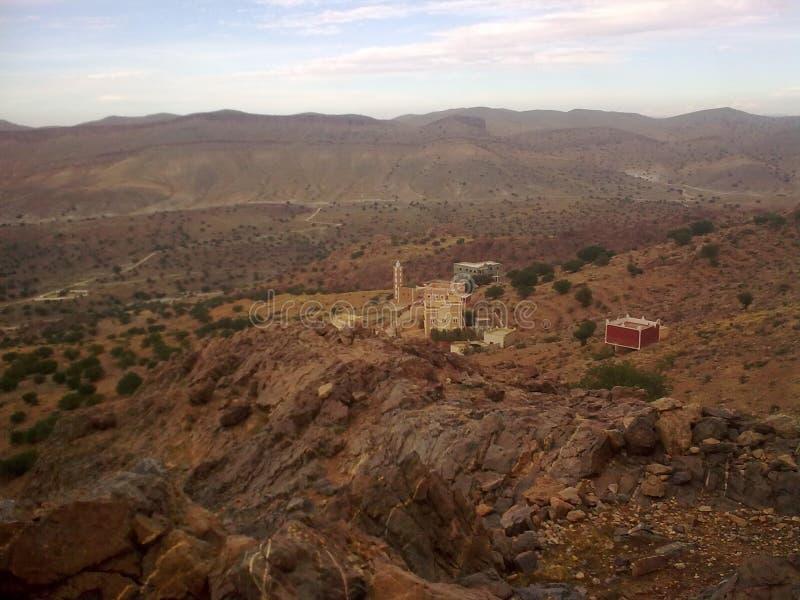 Montanha em Tafraout imagem de stock