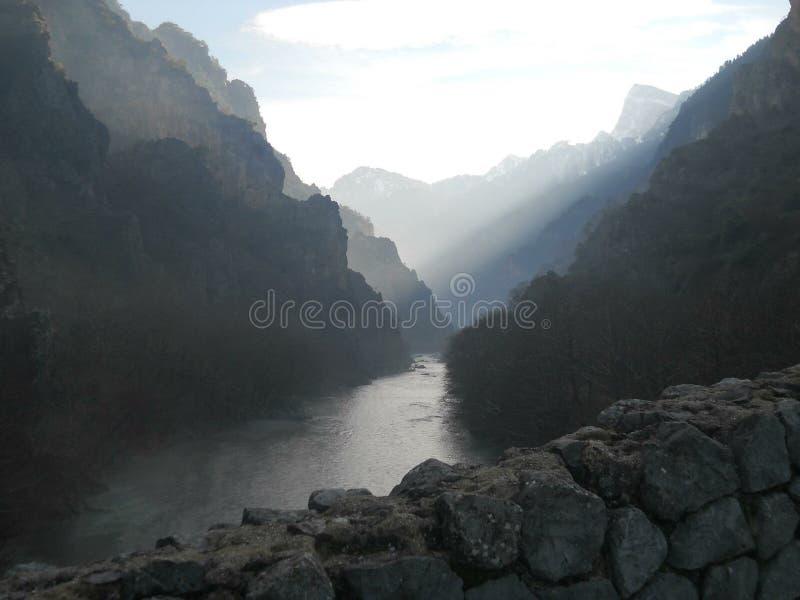 Montanha grega fotos de stock royalty free