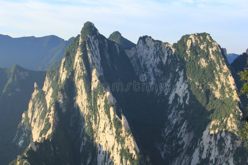 Montanha Hua em China fotografia de stock royalty free