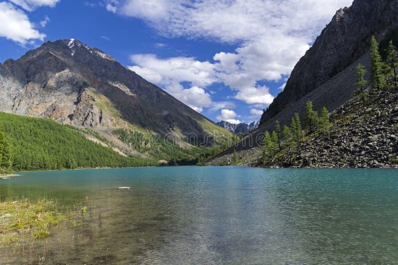 Montanha Lake Altai, Sibéria, Rússia fotografia de stock royalty free