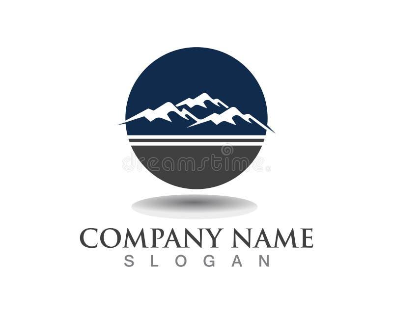 Montanha Logo Business Template Vetora ilustração do vetor