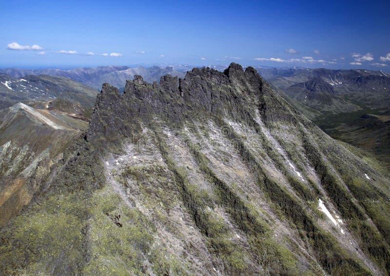 Montanha Manaraga de Ural imagem de stock royalty free