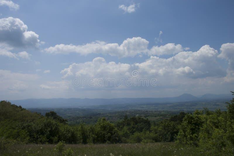 Montanha na Sérvia-Planina u Srbiji fotografia de stock royalty free