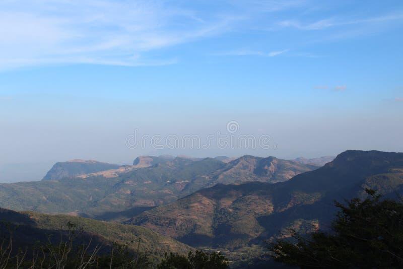 Montanha natural de Sri Lanka imagens de stock royalty free