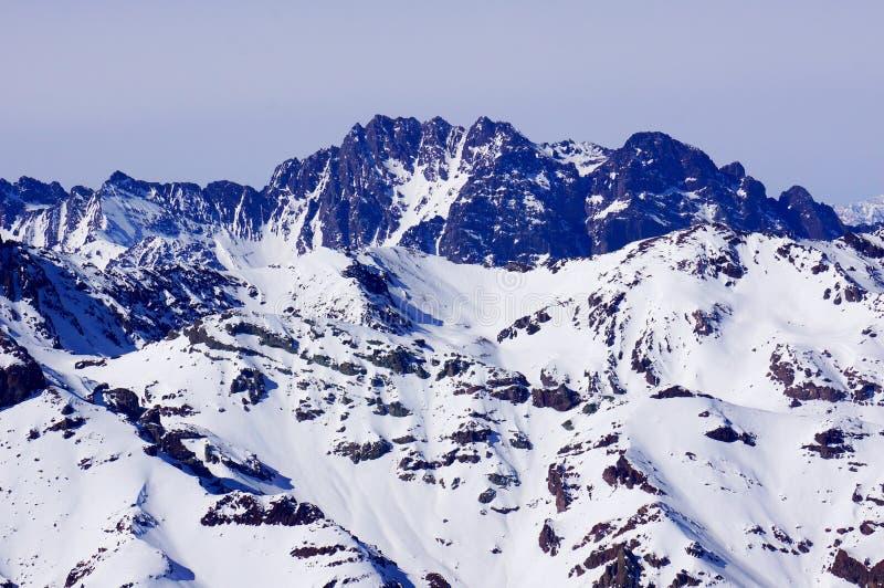 A montanha no Chile fotos de stock