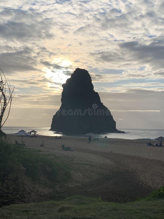 Montanha Noronha de dois irmãos imagens de stock royalty free