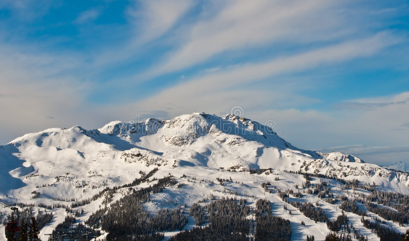 Montanha olímpica foto de stock royalty free
