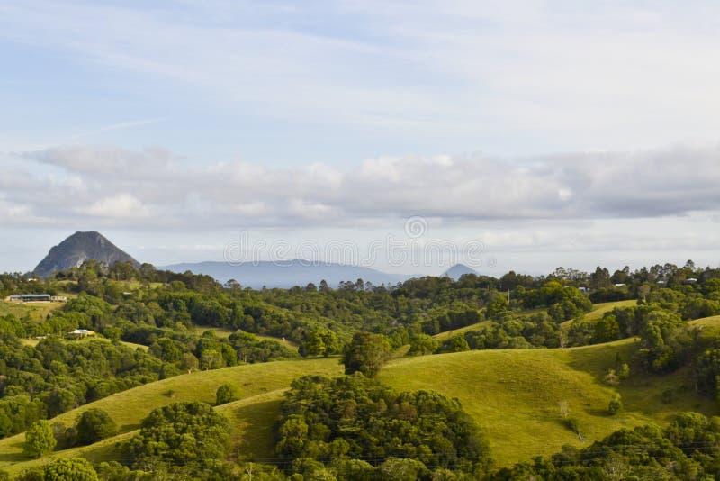 Montanha preta 5 foto de stock royalty free