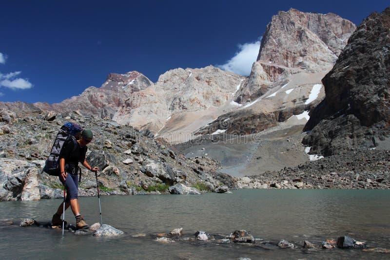 Montanha que trekking