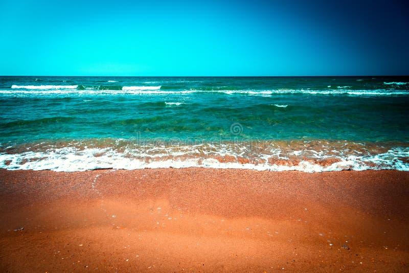 Montanha a?rea de Photography Seascape Skyline imagem de stock royalty free