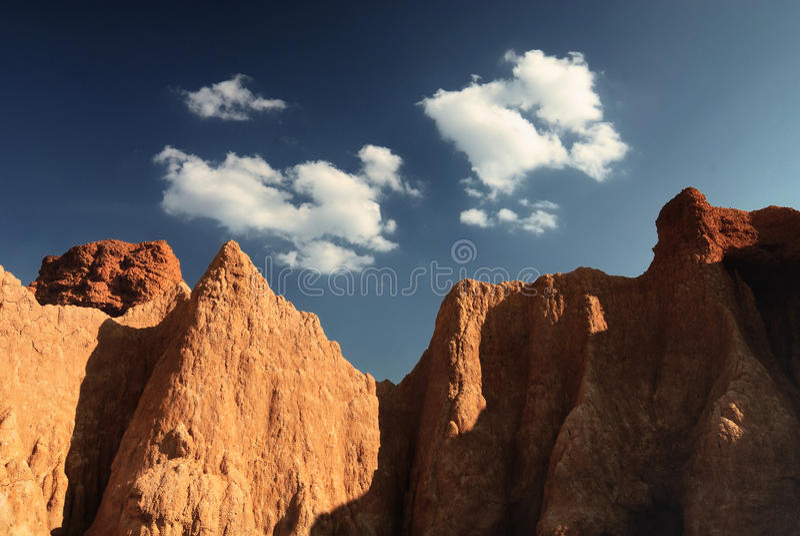 Montanha rochosa fotos de stock royalty free