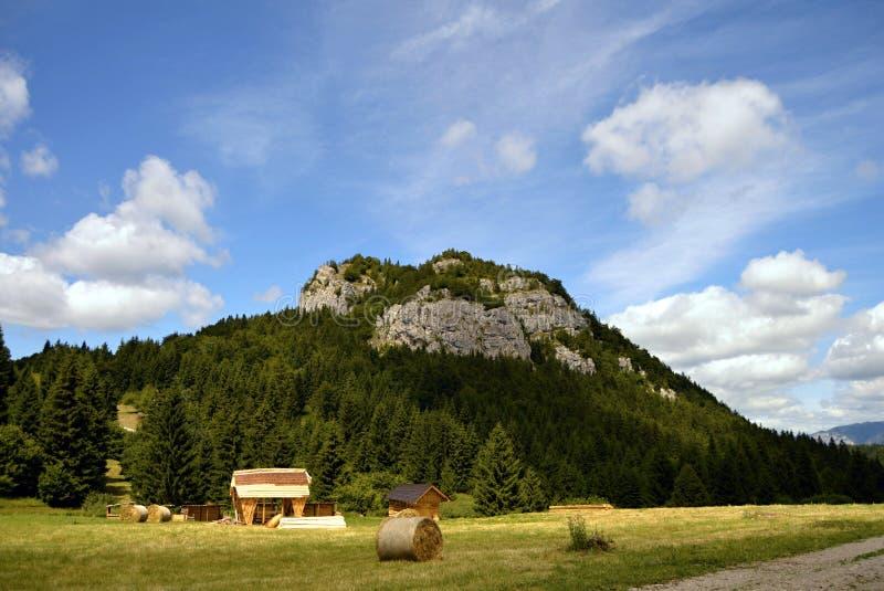 Montanha só, Malino Brdo, Eslováquia fotografia de stock