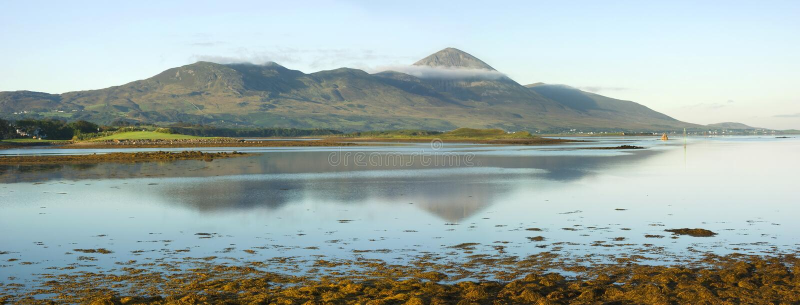 Montanha santamente de Ireland fotos de stock