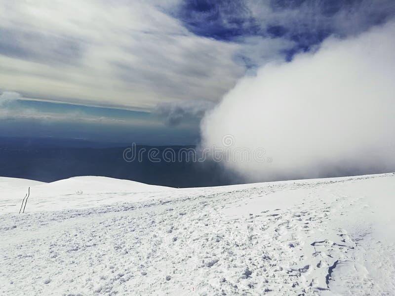 Montanha vívida de Suva foto de stock royalty free