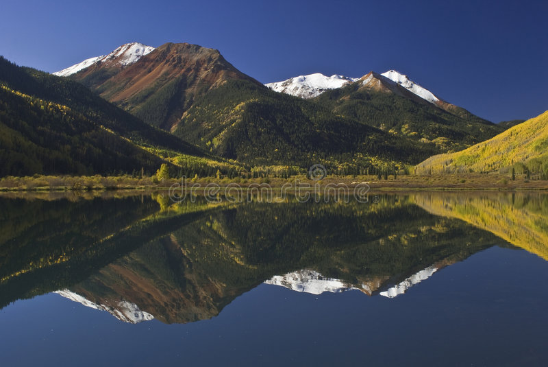 Montanha vermelha Pass-03 fotos de stock royalty free
