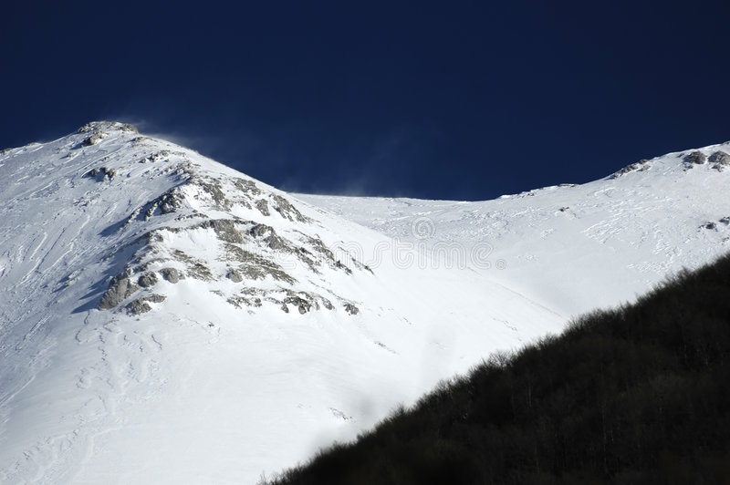 Montanhas 01 imagem de stock