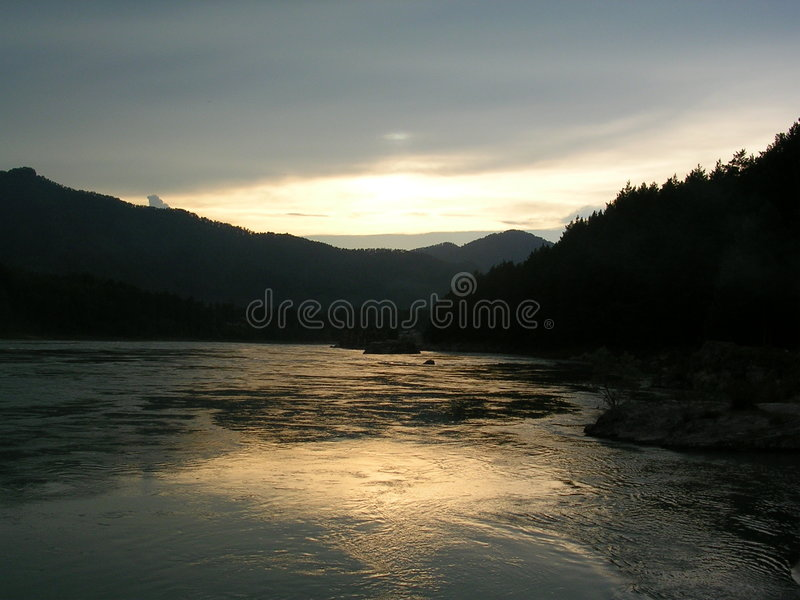 Montanhas 1 de Altai fotos de stock