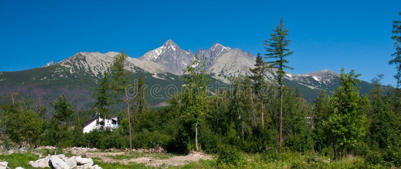 Download Montanhas imagem de stock. Imagem de slovakia, floresta - 26501063