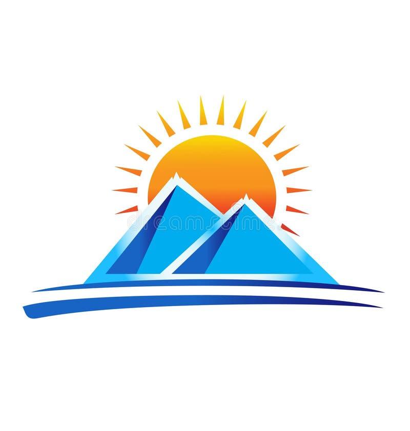 Montanhas ilustração stock