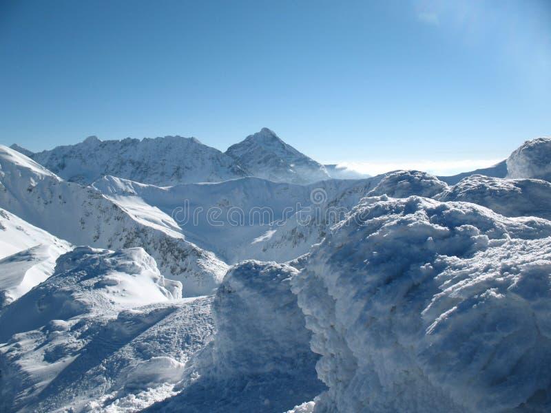 Montanhas altas imagem de stock royalty free