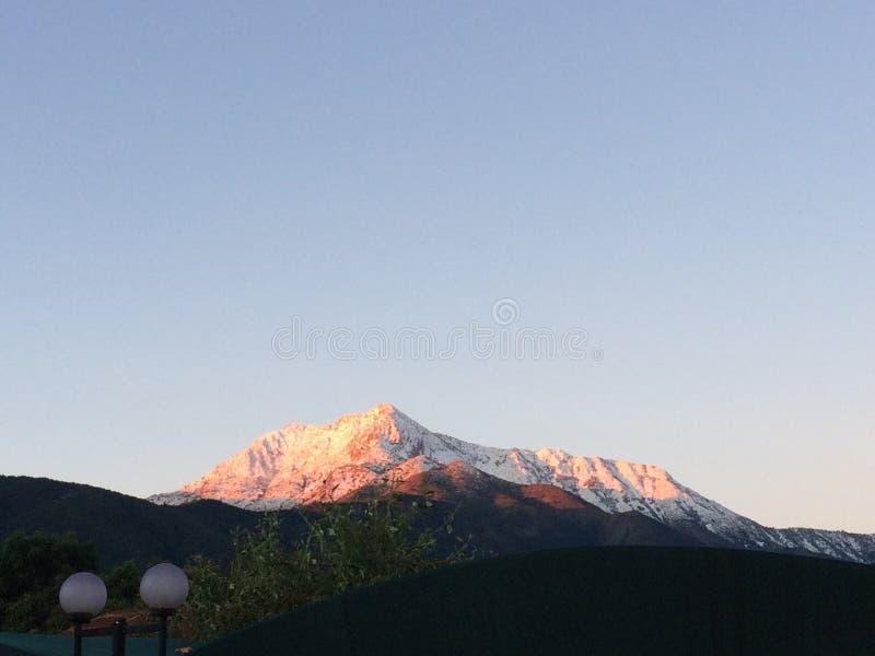 Montanhas andinas imagens de stock royalty free