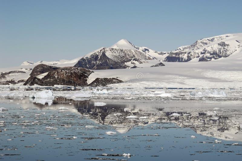 Montanhas Antárcticas Imagens de Stock