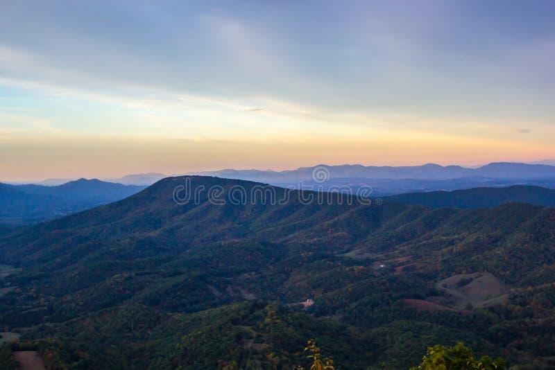 Montanhas apalaches imagem de stock