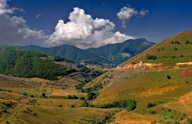 Montanhas arménias fotografia de stock royalty free
